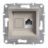 Розетка компютерна Schneider Electric Asfora бронза