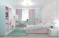 """Коллекция детской мебели """"Pink flamingo"""""""