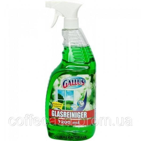 Средство для мытья окон Gallus Windows Glass und Flowers (зеленое) 1,2л