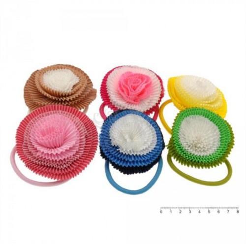 Резинка для волос детская 7347 (12 шт./уп.)