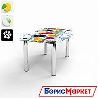 Журнальный стол стекляный с фотопечатью Бочка Berry Mix  от БЦ-Стол