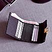 Кошелек женский маленький классический серый, фото 6