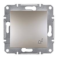 Кнопка дзвінка Schneider Electric Asfora бронза