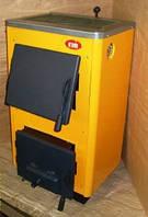 Котел твердотопливный Огонек КОТВ-18ПВ с плитой и горячим водоснабжением
