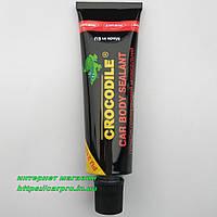 Герметик полиуретановый клеющий уплотняющий автомобильный для швов CROCODILE PU 210FC черный 60 мл., фото 1