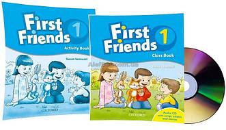 Английский язык /First Friends1st edition / Class+Activity Book. Учебник+Тетрадь (комплект), 1/Oxford