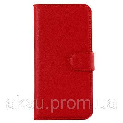 Чехол книжка на iPhone Х/XS Flip Wallet красный