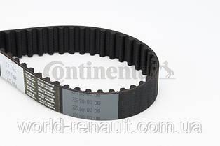 Ремінь ГРМ на Рено Дастер 1.5 dci K9K (119 зуба) / CONTI CT1184