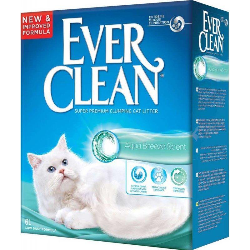 Кошачий наполнитель Ever Clean Aqua Breeze Scent - 6л