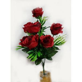 Букеты роз C-16-74 (16 шт./уп.) продается упаковкой Искусственные цветы оптом
