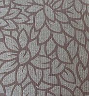 Готовые рулонные шторы 300*1500 Ткань Lotos 79 Коричневый