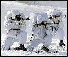 Маскировочный костюм зимний. ВС Австрии, оригинал.
