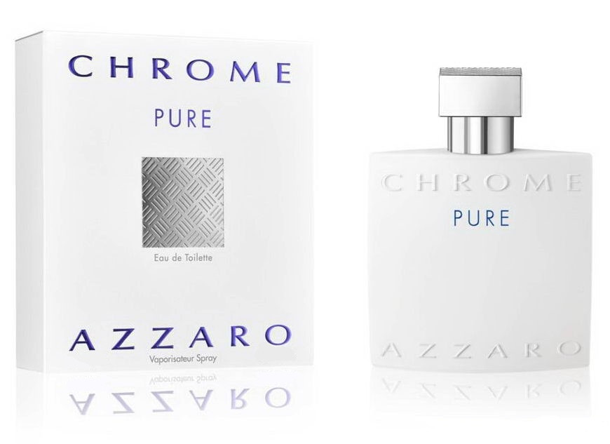 Azzaro Chrome Pure туалетна вода 100 ml. (Аззаро Хром Пур)