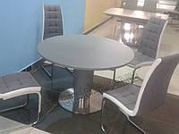 "Кухонный стол ""SM-815"" серый сатин"