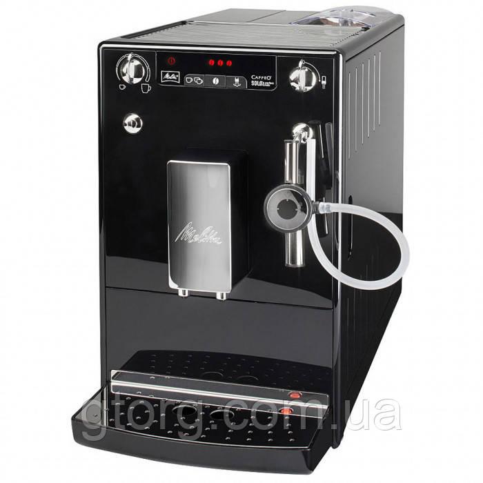 АВТОМАТИЧЕСКАЯ КОФЕМАШИНА MELITTA CAFFEO SOLO & PERFECT MILK BLACK