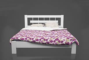 Ліжко дерев'яне односпальне 90*200 Такка Kempas