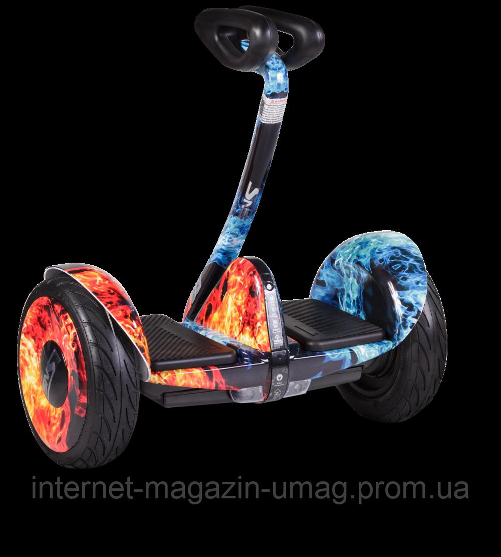 Гироскутер SNS M1Robot mini (54v) - 10,5 дюймов (Music Edition) Mix Fire (Огонь и лёд)