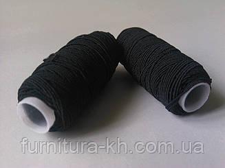Нитка резинка 10 шт в уп. цвет Черный