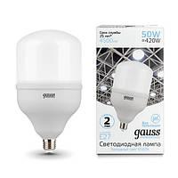 Светодиодная лампа GAUSS Elementary Т 140 50 Вт 6500K E27 180-240 В