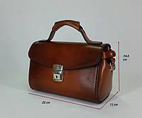 Женская кожаная сумочка ручной работы из натуральной кожи