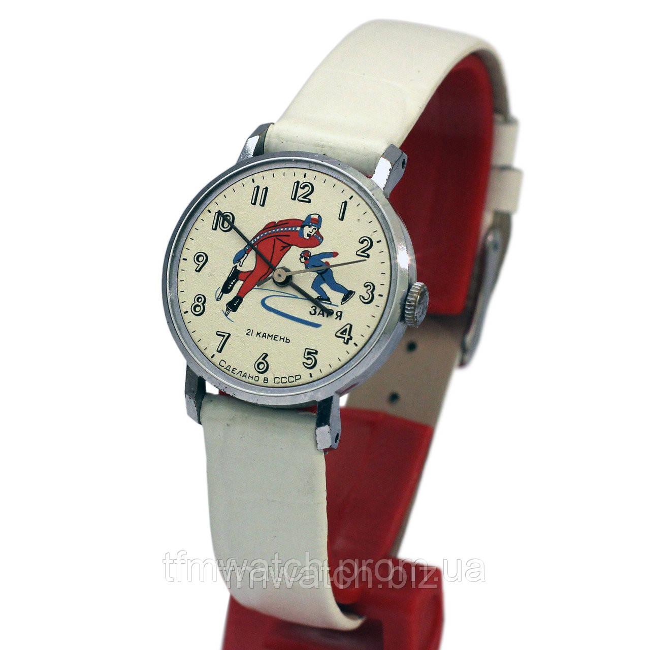 174095a1 Часы Заря конькобежцы - Магазин старинных, винтажных и антикварных часов  TFMwatch в России