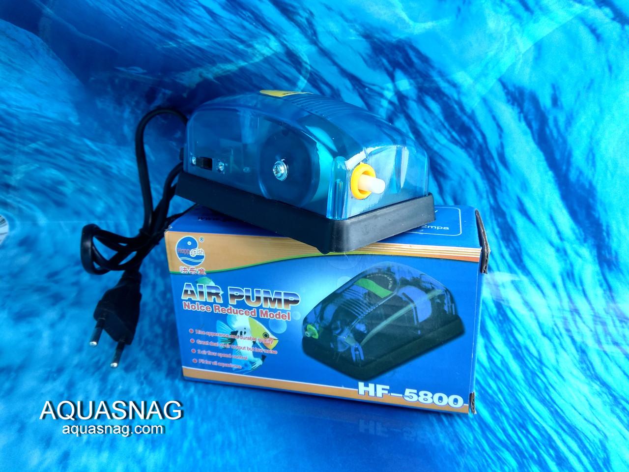 Компрессор Happy Fish HF-5800, 3l/min, 5W