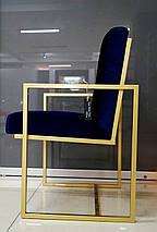 Стул Golden style на металлической опоре, фото 2