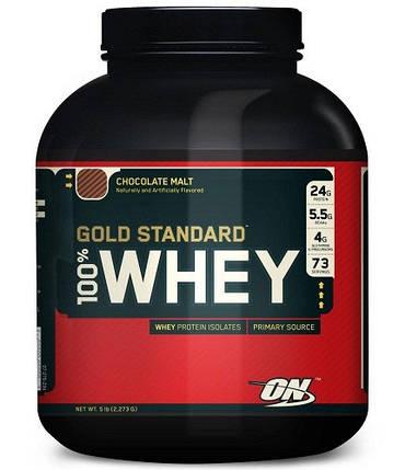 Optimum Nutrition 100% Whey Gold Standard (EU), фото 2