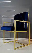Стул Golden style на металлической опоре, фото 3