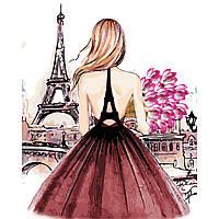 Художественный творческий набор, картина по номерам Красотка в Париже, 40x50 см, «Art Story» (AS0442), фото 1