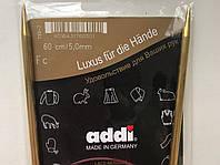 Спицы Addi 60см 5 мм
