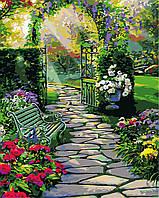 Художественный творческий набор, картина по номерам Волшебный сад (Ru. Cobane), 40x50 см, «Art Story» (AS0382), фото 1