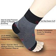 Компрессионные носки Bellamei 20-30 мм рт.ст. унисекс, фото 3