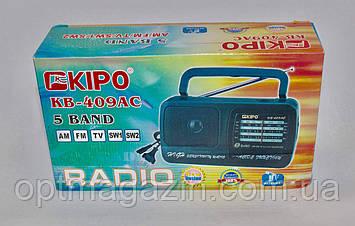 Радіоприймач KIPO KB-409AC, фото 2