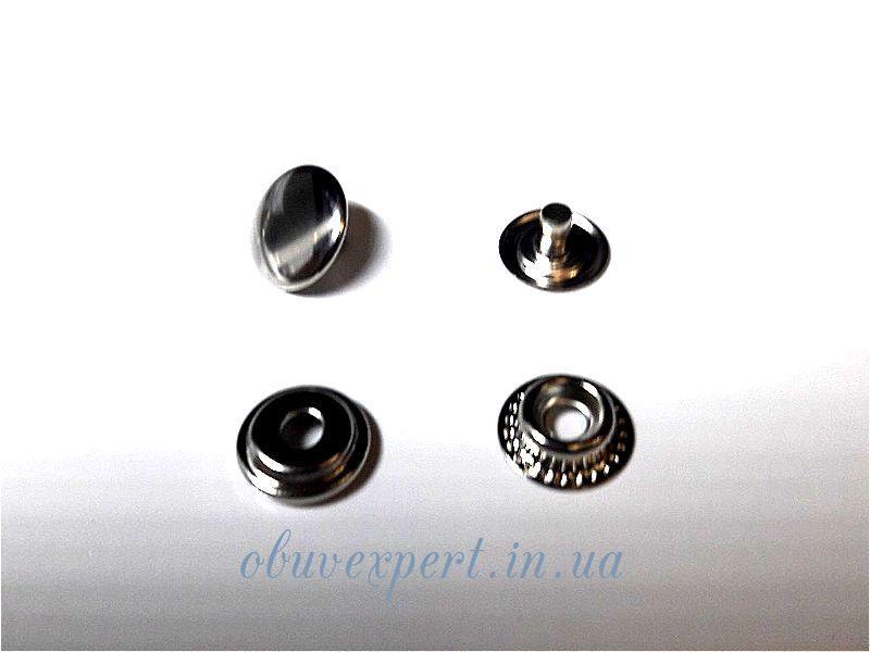 Кнопка Каппа 15 мм Никель (10 шт)