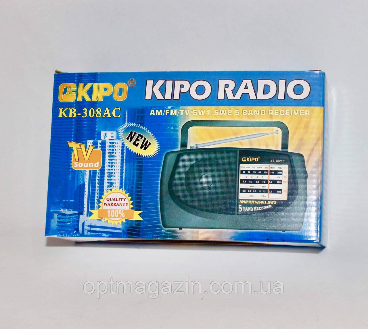 Радіоприймач KB-308AC