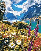 Художественный творческий набор, картина по номерам Горный воздух, 40x50 см, «Art Story» (AS0386), фото 1