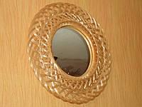 Зеркало в раме из лозы №1