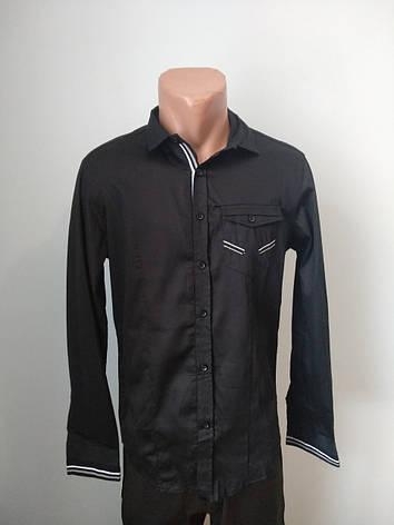 Рубашка мужская коттоновая брендовая высокого качества WEAWER, Турция, фото 2