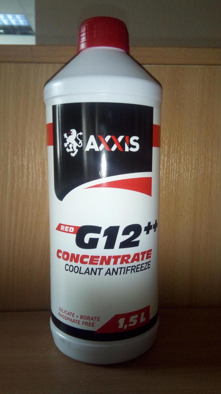 Антифриз  RED концентрат G12+ (-80C) (Канистра 1,5л)