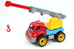 """Игрушка """"Автокран ТехноК"""" (в коробке), 4555, 36.5 х 24.5 х 21.5 см"""