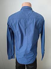 Рубашка мужская коттоновая брендовая высокого качества WEAWER, Турция, фото 3