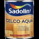 Лак для дерева для внутренних работ на водной основе Celco Aqua, Sadolin