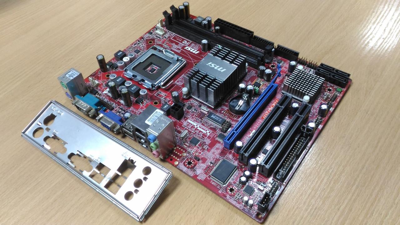 Материнская плата MSI G31TM-P21 (s775, iG31, PCI-Ex16)