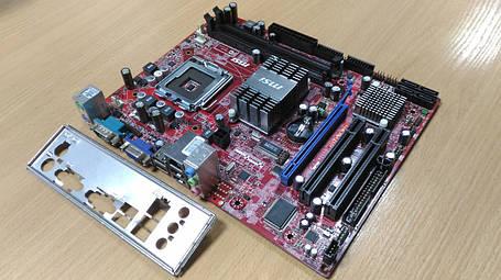 Материнская плата MSI G31TM-P21 (s775, iG31, PCI-Ex16), фото 2