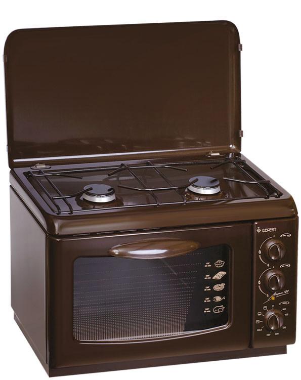 Кухонная плита Gefest ПГЭ 120 коричневая