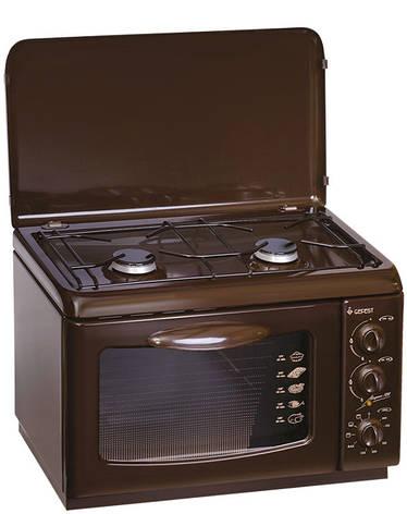 Кухонная плита Gefest ПГЭ 120 коричневая, фото 2