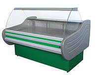 Витрина холодильная ВХН Арктика 1.6 с гнутым стеклом