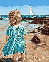 Художественный творческий набор, картина по номерам Маленькая Асоль, 40x50 см, «Art Story» (AS0451), фото 1