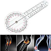 Гониометр линейка для измерения подвижности суставов 320 мм 360°, фото 1